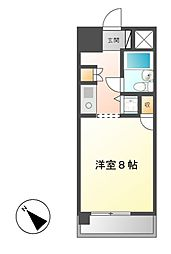 コンフォルト鶴舞[6階]の間取り