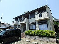 静岡県静岡市駿河区鎌田の賃貸アパートの外観