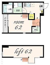Residence Imaike[1階]の間取り