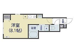 埼玉県さいたま市緑区東浦和5丁目の賃貸アパートの間取り