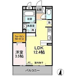 (仮)D−room新生町[302号室]の間取り