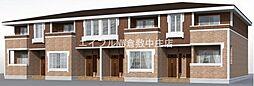 岡山県倉敷市真備町川辺丁目なしの賃貸アパートの外観