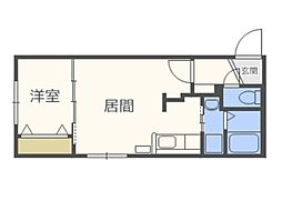 仮)北5西13MS A棟[3階]の間取り