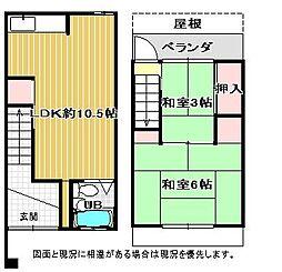 [タウンハウス] 大阪府和泉市富秋町2丁目 の賃貸【/】の間取り