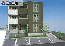 仮)藤森2丁目マンション東棟[3階]の外観