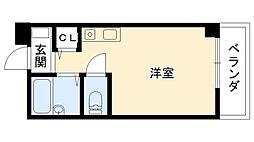 マンション国松[203号室]の間取り