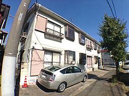 千葉県柏市加賀3丁目の賃貸アパートの外観