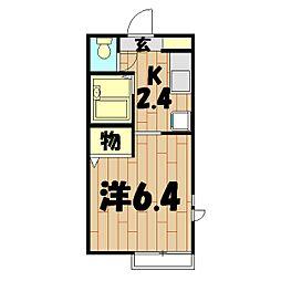 アーバンステージ鶴ヶ峰[105号室]の間取り