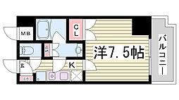 トア山手 フラッツ棟[7階]の間取り