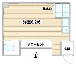 SATO[303号室]の間取り