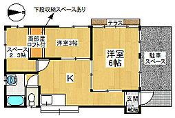 [一戸建] 埼玉県狭山市笹井2丁目 の賃貸【/】の間取り