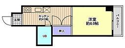 プラザ信開北安江[202号室]の外観