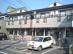京都府京都市北区小山上板倉町の賃貸アパートの外観