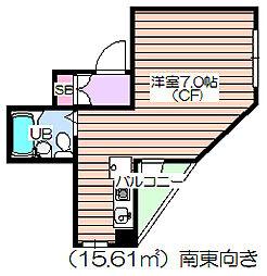 新城ビル[4階]の間取り