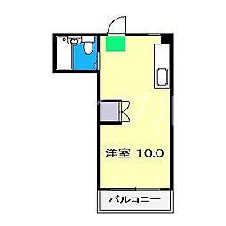 パレドール大津[2階]の間取り