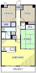 JUN青葉町コート[4階]の間取り