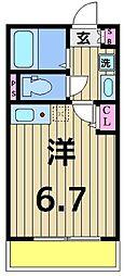 仮称)加平3丁目新築アパート[103号室]の間取り