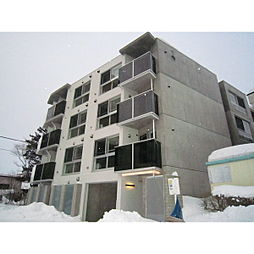 北海道札幌市厚別区厚別中央1条2丁目の賃貸マンションの外観