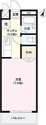 ファミール田中[3階]の間取り