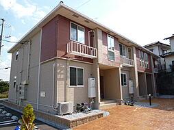 岡山県倉敷市連島町矢柄の賃貸アパートの外観