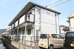 コーポ中井B棟[2階]の外観