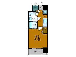 Osaka Metro中央線 弁天町駅 徒歩7分の賃貸マンション 3階1Kの間取り