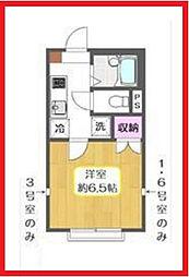 東京都葛飾区堀切6の賃貸アパートの間取り