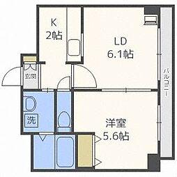 ドマーニプレイス[6階]の間取り