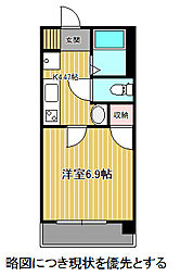 愛知県名古屋市千種区千種3丁目の賃貸マンションの間取り