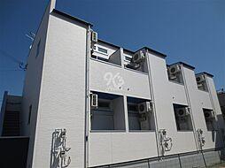 兵庫県明石市硯町1丁目の賃貸アパートの外観