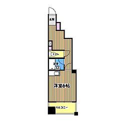 AplaceintheNegishibuilding[2階]の間取り