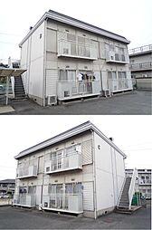 広島県福山市本庄町中2丁目の賃貸アパートの外観