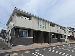 愛知県額田郡幸田町大字菱池字山ノ郷の賃貸アパートの外観