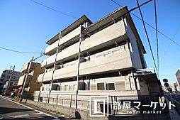 愛知県豊田市月見町2丁目の賃貸マンションの外観