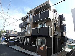 広島県広島市安佐南区古市3丁目の賃貸アパートの外観