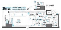 ZOOM横濱EAST[506号室]の間取り