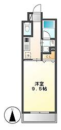 CASTELLO LUSSO (カステロ・ルッソ)[4階]の間取り