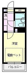 エマーユ戸田公園II[205号室号室]の間取り