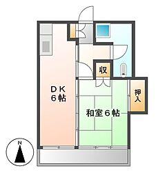 ミヤキビル[5階]の間取り