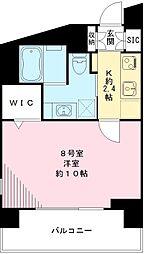 Win Bell 仙川 ウィンベルセンガワ[208号室号室]の間取り