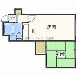 マイロード27[2階]の間取り