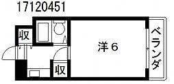 インクエイト[2階]の間取り