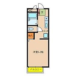サンシャイン藤川[2階]の間取り