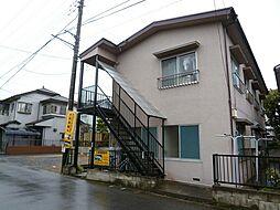 風間アパート[1階]の外観