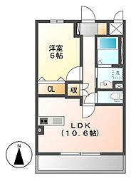 (仮称)岩塚本通1丁目マンション[5階]の間取り