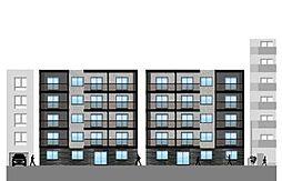 仮)北14東1マンション[2階]の外観