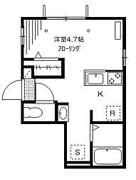 MAISON KINO[101号室]の間取り