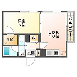 兵庫県神戸市須磨区神撫町3丁目の賃貸マンションの間取り