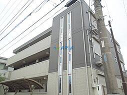 神奈川県川崎市幸区紺屋町の賃貸アパートの外観