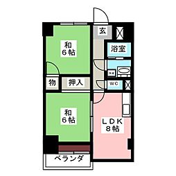 TO BE[8階]の間取り